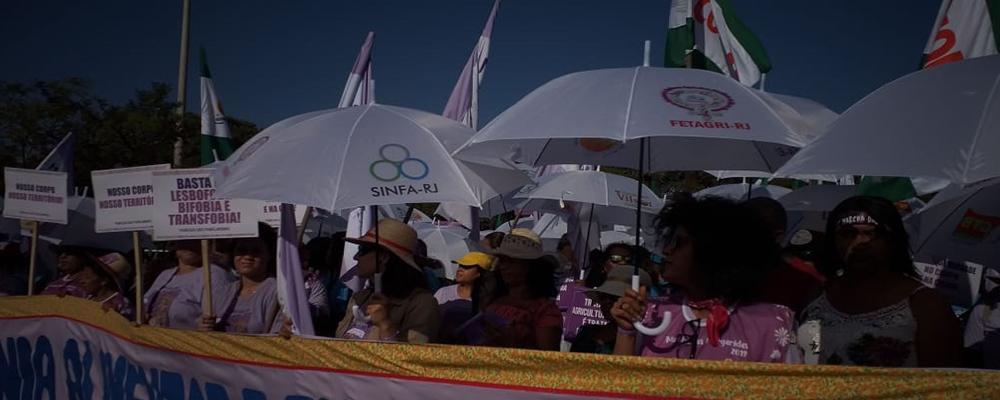 Marcha das Margaridas toma as ruas de Brasília