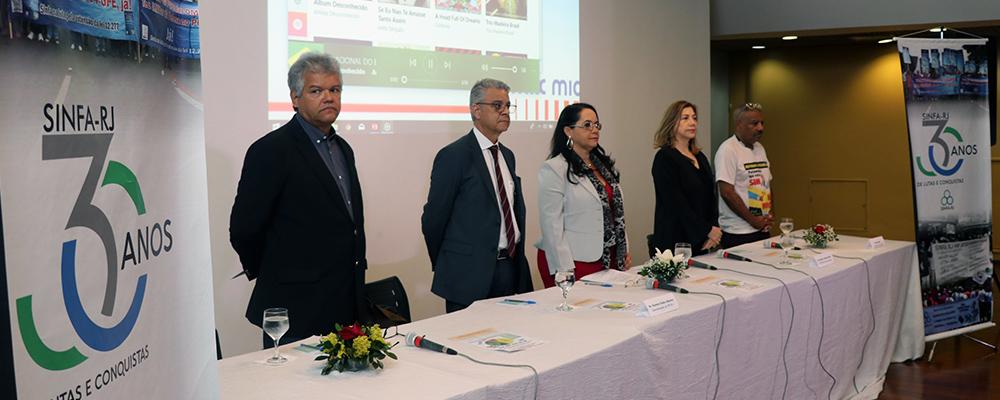 Sinfa-RJ inicia comemorações de 30 anos com debate sobre a Reforma da Previdência